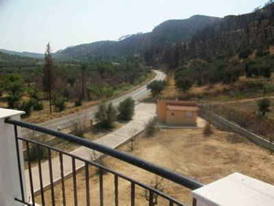 Villa in Greece, Peloponnese: View from rooftop terrace