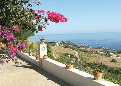 Owners abroad Detached Villa with stunning sea view.