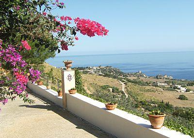 Villa in Italy, Scopello: sea view