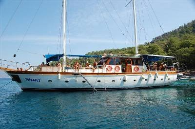 Fethiye FULL BOARD Wooden Yacht with crew