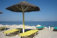 Apartment in Greece, Benitses: nearest beach