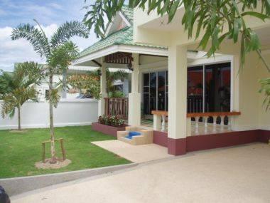 Villa in Thailand, Hua Hin: Villa Front