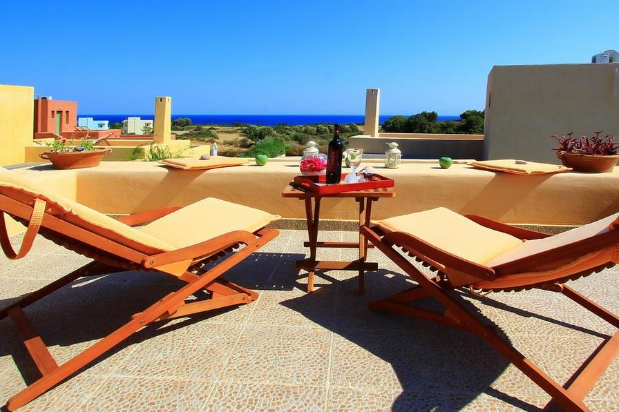 Owners abroad Lilium with private Pool,sea view,terrace for 2 & 2