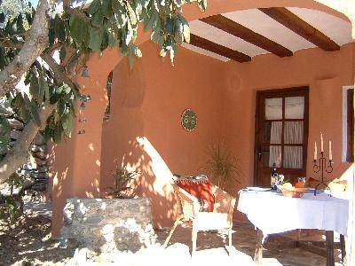 Cottage in Spain, ORGIVA: Sunny patio area