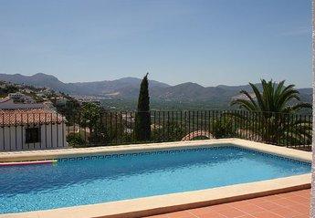 Villa in Spain, Monte Pego: Pool Terrace