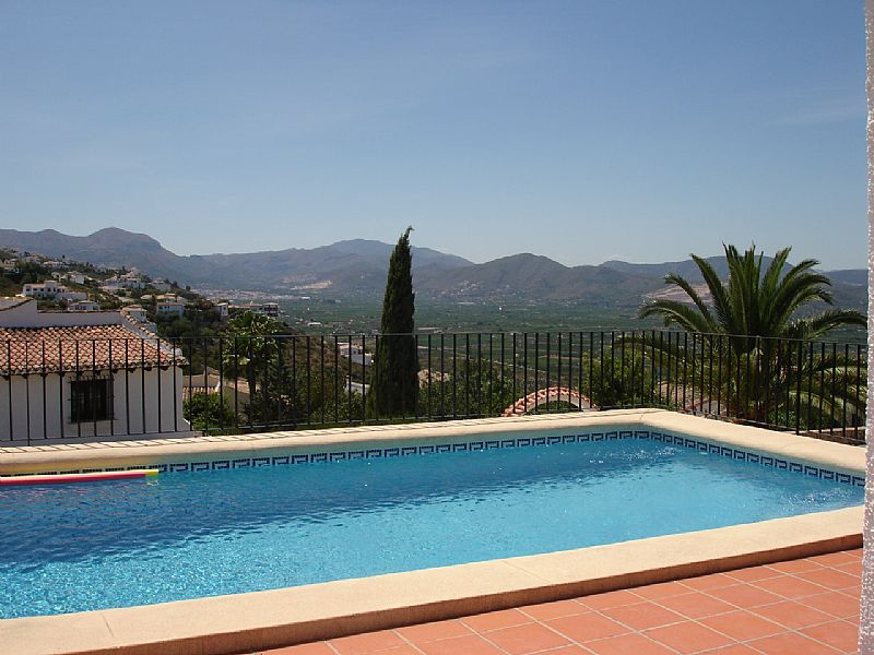 Villa in Spain, Monte Pego: Pool Terrace