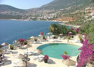 Apartment to rent in Kalkan, Turkey with pool  63102