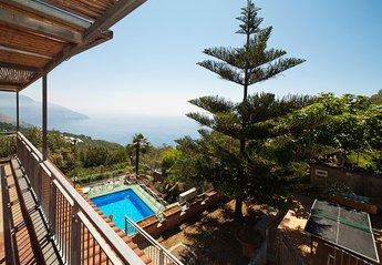 Villa in Italy, Piano di Sorrento: Villa Lupier with terrace sea view and private pool sorrento ho..