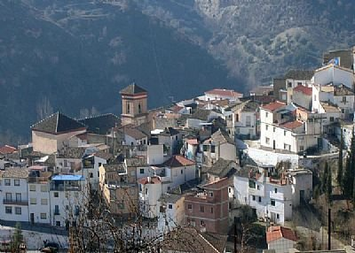 Village house in Spain, Quéntar: The village of Quentar