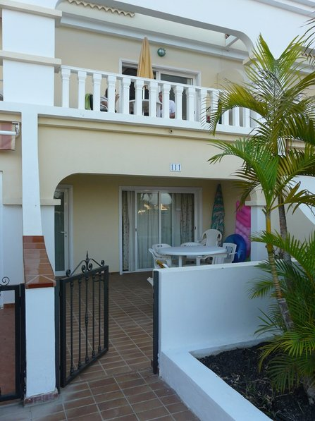 Apartment in Spain, Golf del Sur: Back elevation