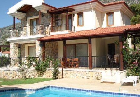 Villa in Ovacik, Turkey: villa elevation