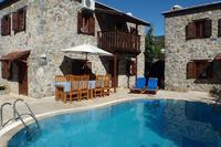 Villa in Turkey, Kaya Village: Villa Gulay from pool area.