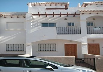Town House in Spain, La Cinuelica: View of Villa from outside
