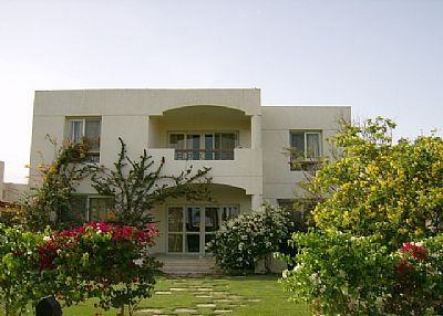 Villa in Egypt, Sharm El Sheikh: The front view to the villa