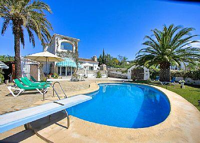 Villa in Spain, Javea: Pool and Villa