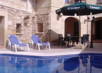 Farm house in Malta, Xewkija: Pool Area
