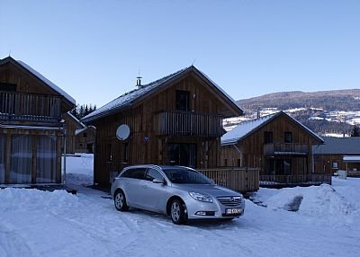 Chalet in Austria, Stadl: Just arrived - Winter 2009