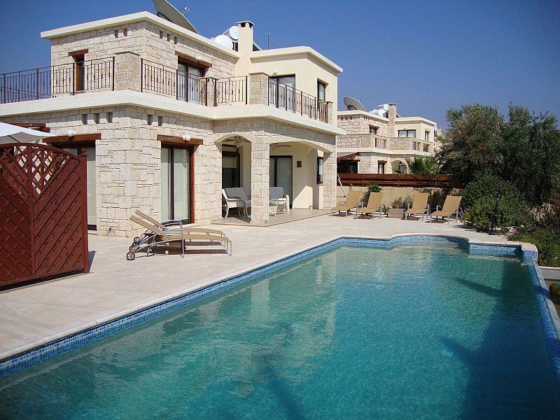 Villa in Cyprus, Coral Bay Centre: Pool View