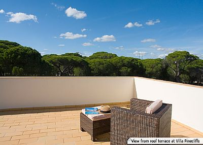 Villa in Portugal, Albufeira: View from the roof terrace