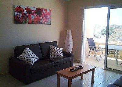 Apartment in Cyprus, Nissi Beach: Living area