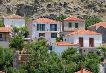 Village House in Greece, Limnos island: Isatis. A stone built village house with great views