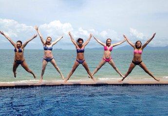 Villa in Thailand, Bang Por: Girls just wanna have fun!