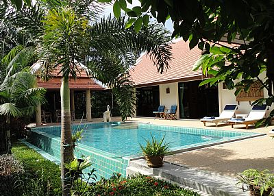 Villa in Thailand, Nai Harn: Pool, Sala and Terrace