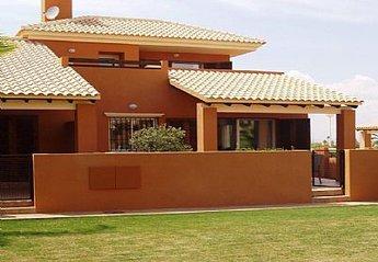Villa in Spain, Mar de Cristal: Front of Villa