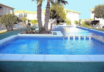 Apartment in Spain, Torrelamata: Lovely communal pool with surrounding sun bathing areas