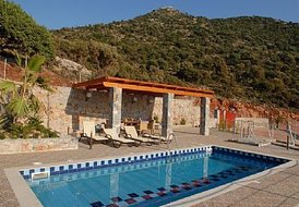 Villa 'Kalypso': private Jacuzzi pool, Sauna cabin and Gym room