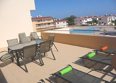 Apartment in Cyprus, Nissi Beach: Balcony