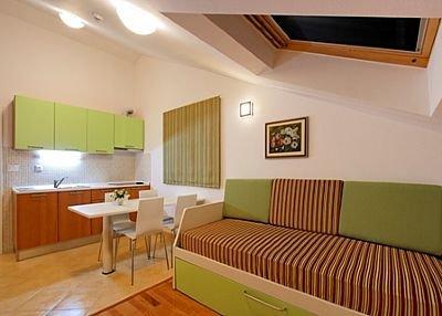 Apartment in Croatia, Hvar: Kitchen / dining room / living room