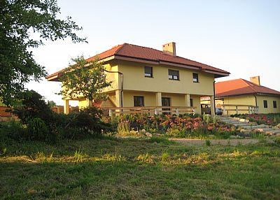Country house in Poland, Malopolskie: Villa GLOGOSTAN - the view from the garden