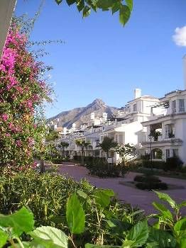 Apartment in Spain, Los Naranjos de Marbella: The andalucian style complex
