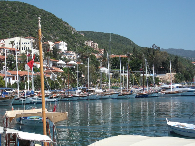 Apartment in Turkey, Kas: View of apartment from Kas Harbour