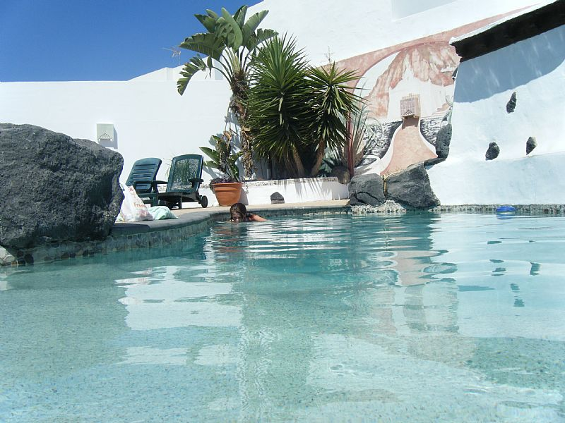 Villa in Spain, Tahiche: pool area