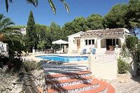 Villa in Spain, Moraira Town: Villa Em Nau
