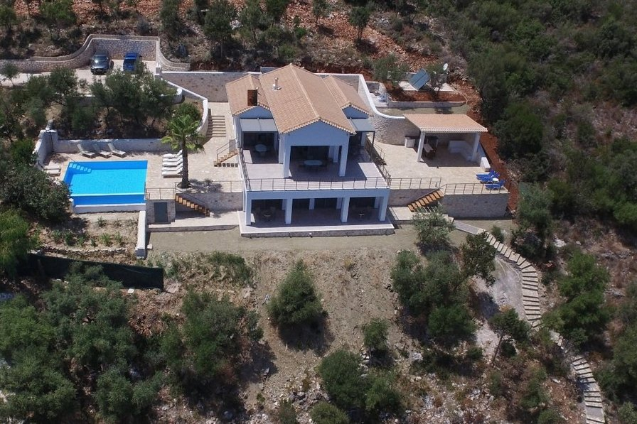 Villa in Greece, Lefkas Island