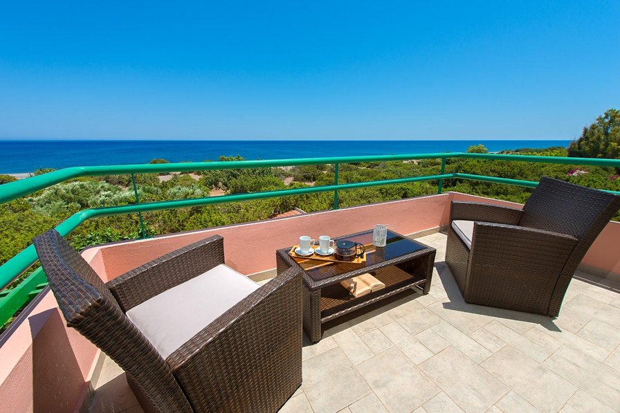 Owners abroad Seashell beachfront with private path to the beach of Gennadi