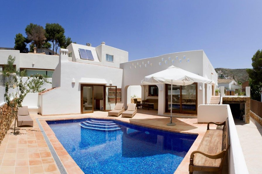 Beach villa in el portet spain with 3 bedrooms swimming - Villa el portet ...