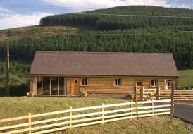 Lodge in Abbey Cwmhir, Wales