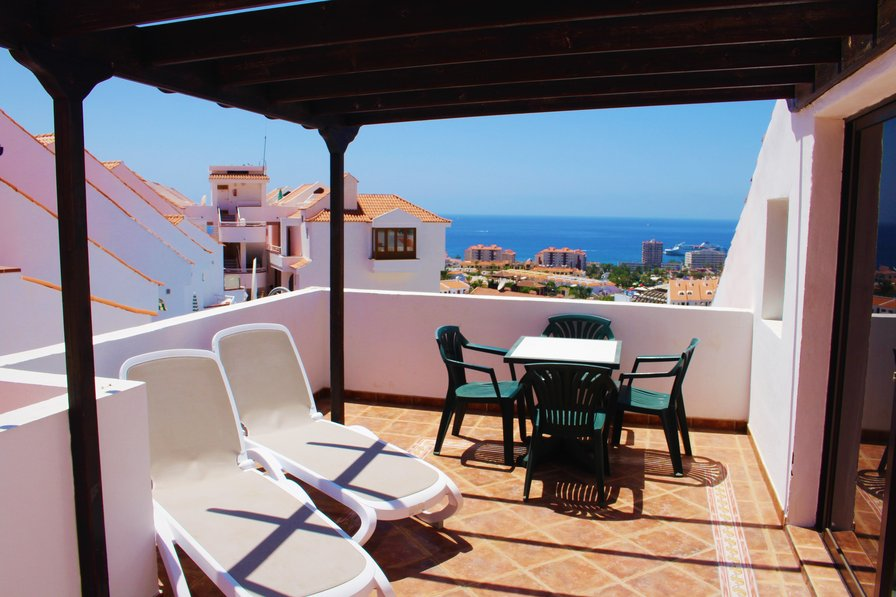 Owners abroad Los Diamantes, Los Cristianos - 2 bed duplex with private terrace