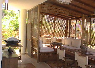 Villa in Turkey, Kalkan: relax in the shade in confort
