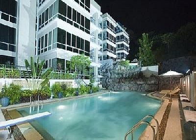 Apartment in Thailand, Karon: Outlook by night