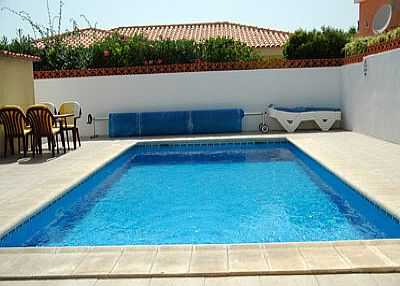 Villa in Spain, Callao Salvaje: The sparkling pool