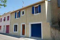 Village_house in France, Capestang: Front View of our house