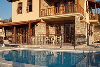 Villa in Turkey, Antalya - Mediterranean Coast: The Villa from across the pool