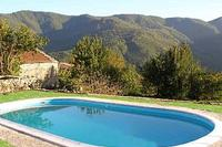 Village_house in Italy, Lunigiana: The pool and view