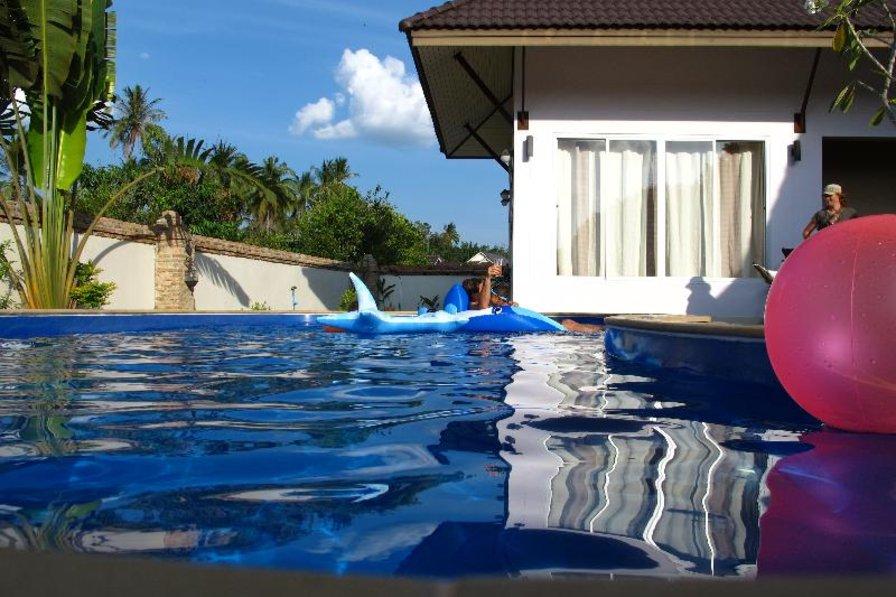 Villa in Thailand, Ao Nang: pool fun