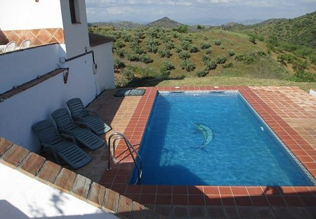 Villa in Guaro, Spain: Your lovely pool and stunning views!